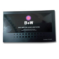 B+W EASY-WIPE FOR LENSES AND FILTERS 镜头清洁湿巾(12片装)