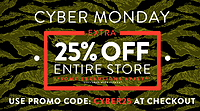 海淘券码:ubiqlife Cyber Monday 促销