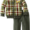 Little Rebels Ace Pilot Arctic Fleece Pant Set 童装两件套套装