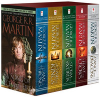 《A Game of Thrones 5-Book Boxed Set(冰与火之歌套装)》