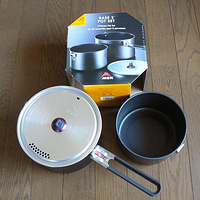 MSR Base 2 Camp Cook Pot  营地合金套锅(2L+1.5L)