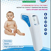 SantaMedical Professional Clinical Large LCD Non-contact Infrared Thermometer 额温计