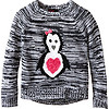 Girls Rule Animal Marled Sweater 女孩针织衫