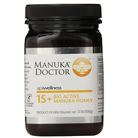 Manuka Doctor Bio Active 15 Plus 麦卢卡蜂蜜 500g