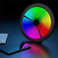 新低价:Chromatic: LED Color Spectrum Clock LED 光谱钟