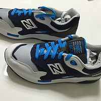 #美淘·Joe's NB Outlet# new balance CM1600CO 蓝白配色男款复古跑鞋 US8码
