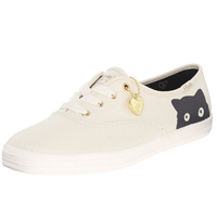 Keds Taylor Swift Sneaky Cat 休闲猫咪帆布鞋