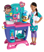 Disney 迪士尼 Doc McStuffins Pet Vet Checkup Center 宠物检验中心