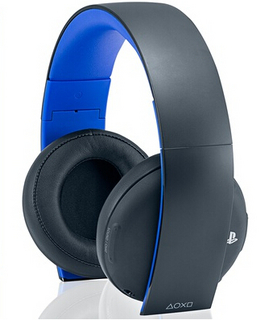 SONY 索尼 Gold Wireless Stereo Headset PS4无线游戏耳机