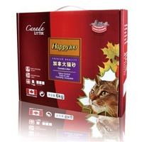 CanadaLITTER Happy100 膨润土 猫砂 6kg*6盒+凑单品