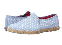 Keds Twin Gore w/ Jute Chambray Dot 女款帆布鞋