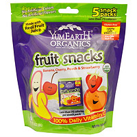 YUMMY EARTH Fruit Snacks 有机水果软糖 19.8g