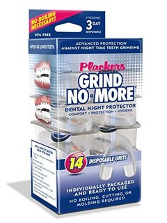 Plackers Mouth Guard Grind No More 牙胶 14只装
