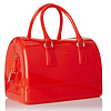 FURLA 芙拉 Candy Satchel 果冻包 中号 Speed/Orange