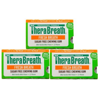 TheraBreath Fresh Breath 口香糖 3片