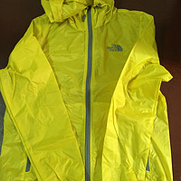 THE NORTH FACE 乐斯菲斯 男式 冲锋衣 CAT776000S ACID YELLOW/