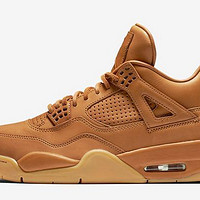 "NIKE 耐克 Air Jordan 4 Retro Premium ""Ginger"" 篮球鞋"