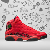 "NIKE 耐克 Air Jordan 13 ""WHAT IS LOVE"" 系列 篮球鞋"